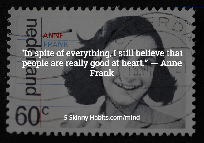 Perception Anne Frank