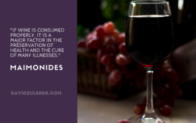 Wine & Maimonides